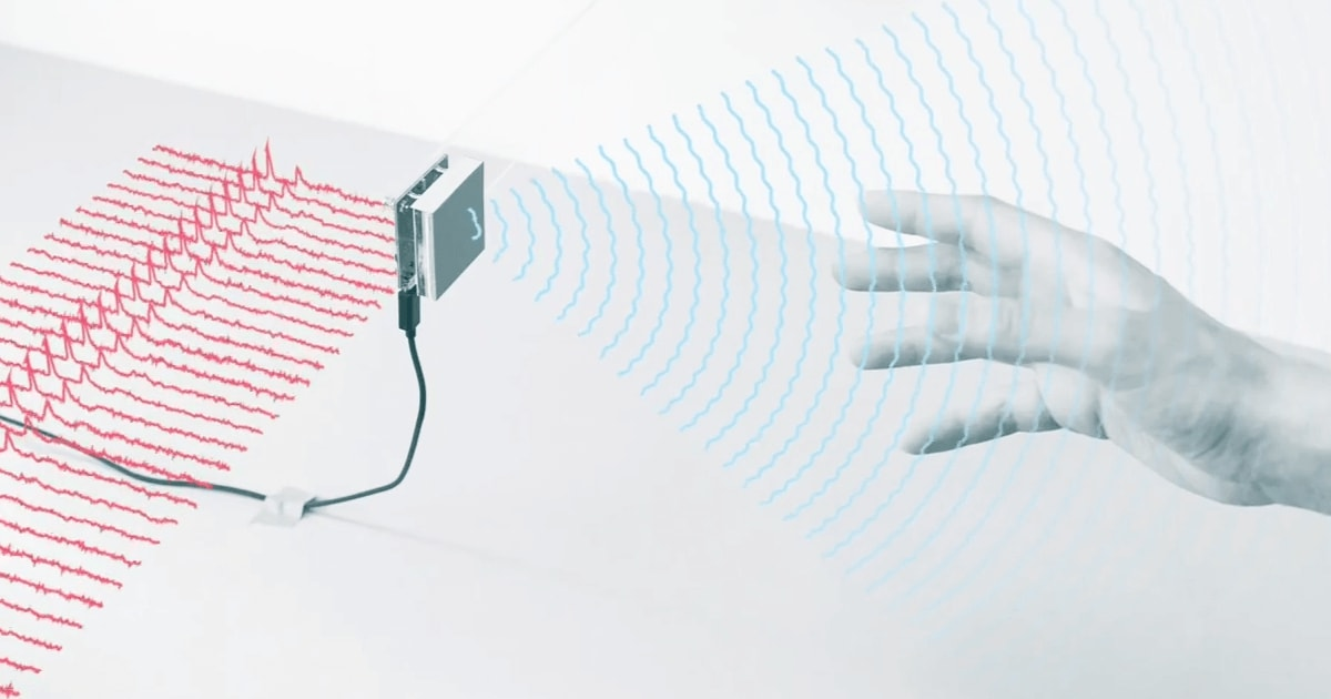 Modul de funcționare al dispozitivului Soli. Detecția mișcărilor folosind unde electromagnetice.