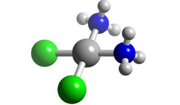 Moleculă cisplatin