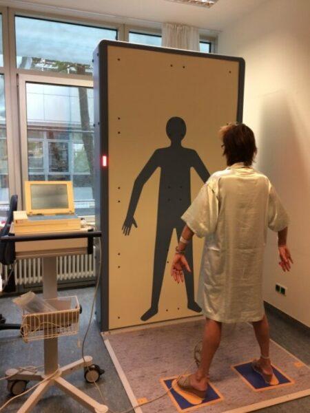 Scanare corporală efectuată în cadrul studiului