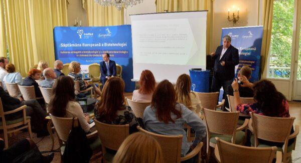 Simpoziom Săptămâna Europeană a Biotehnologiei Alin Nicolescu