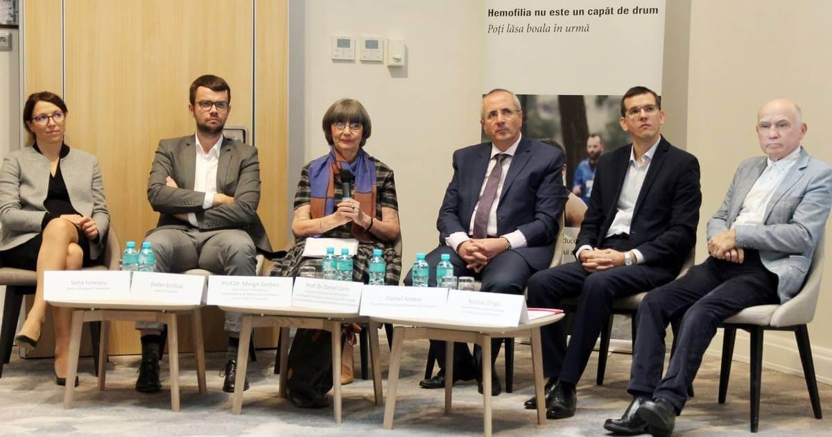 Conferința de lansare a primului studiu asupra impactului socio-economic al hemofiliei în România