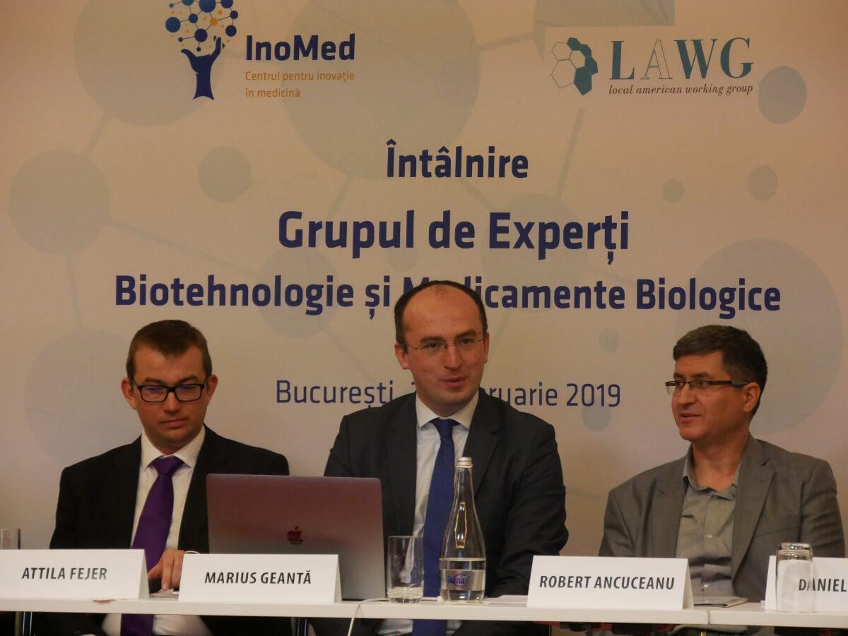Grup experti Biotehnologie Medicamente Biologice intalnire