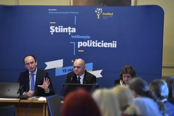 Stiinta intalneste politicienii State Innovation Marius Geanta