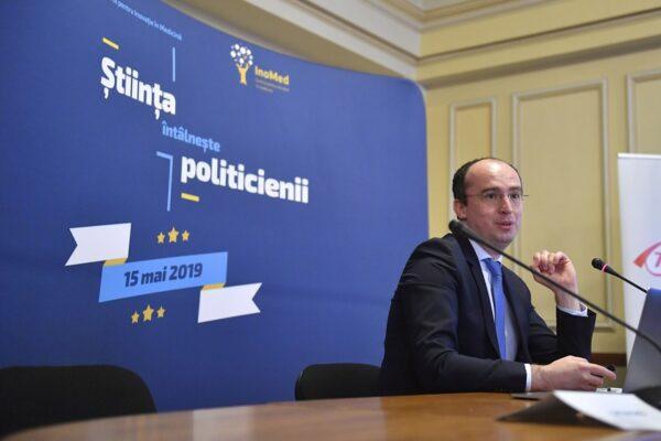 """""""Știința întâlnește Politicienii"""" State Innovation Dr. Marius Geanta"""