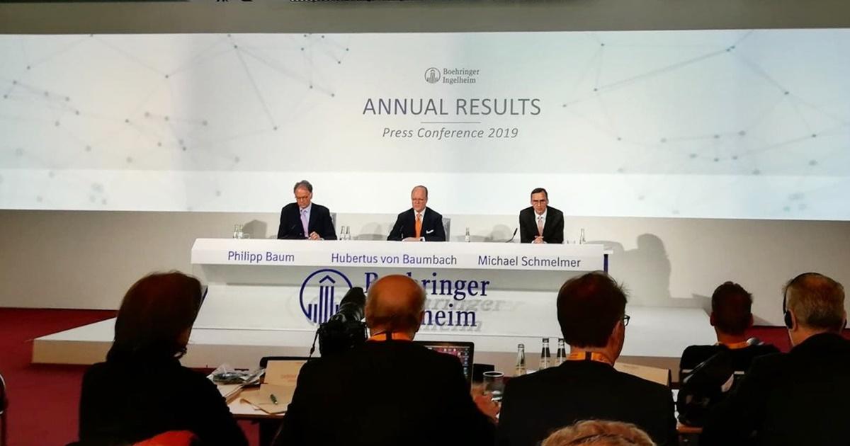Conferința de Presă Anuală 2019 Boehringer Ingelheim