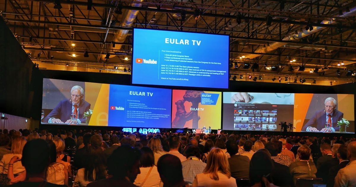 Congres EULAR 2019 festivitate deschidere