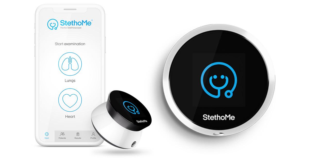 stethome stetoscop inteligent detecteaza primele semne ale afectiunilor respiratorii