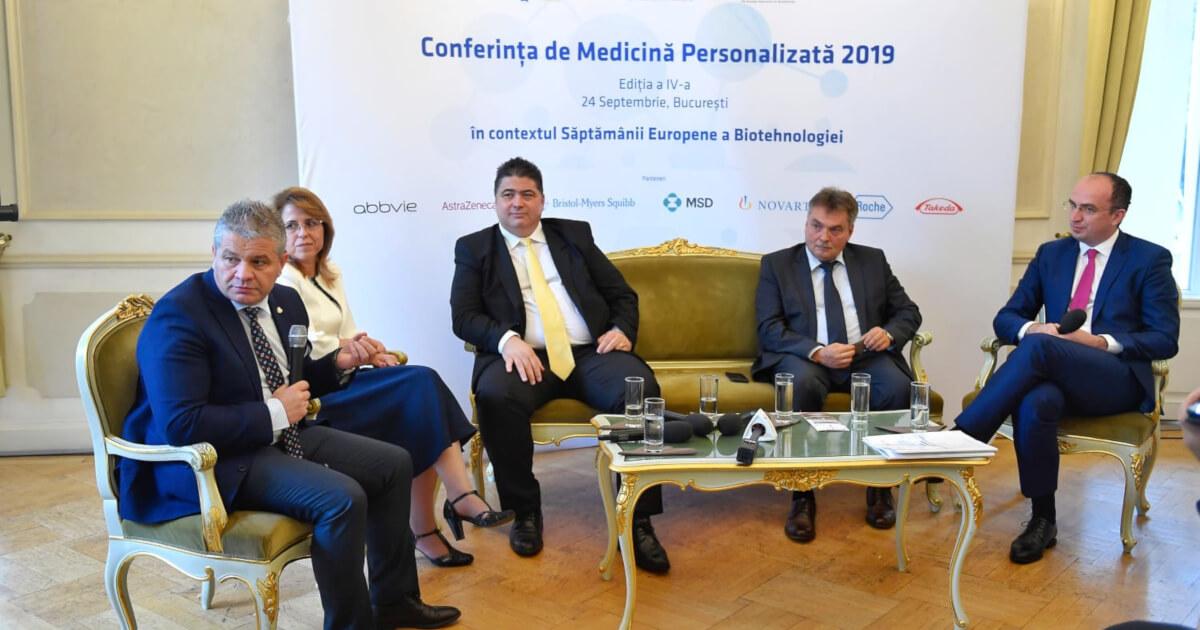 Politicieni la Conferința de Medicină Personalizată