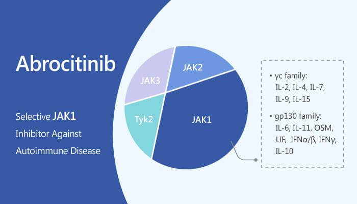 Abrocitinib, inhibitor selectiv de kinaza Janus 1