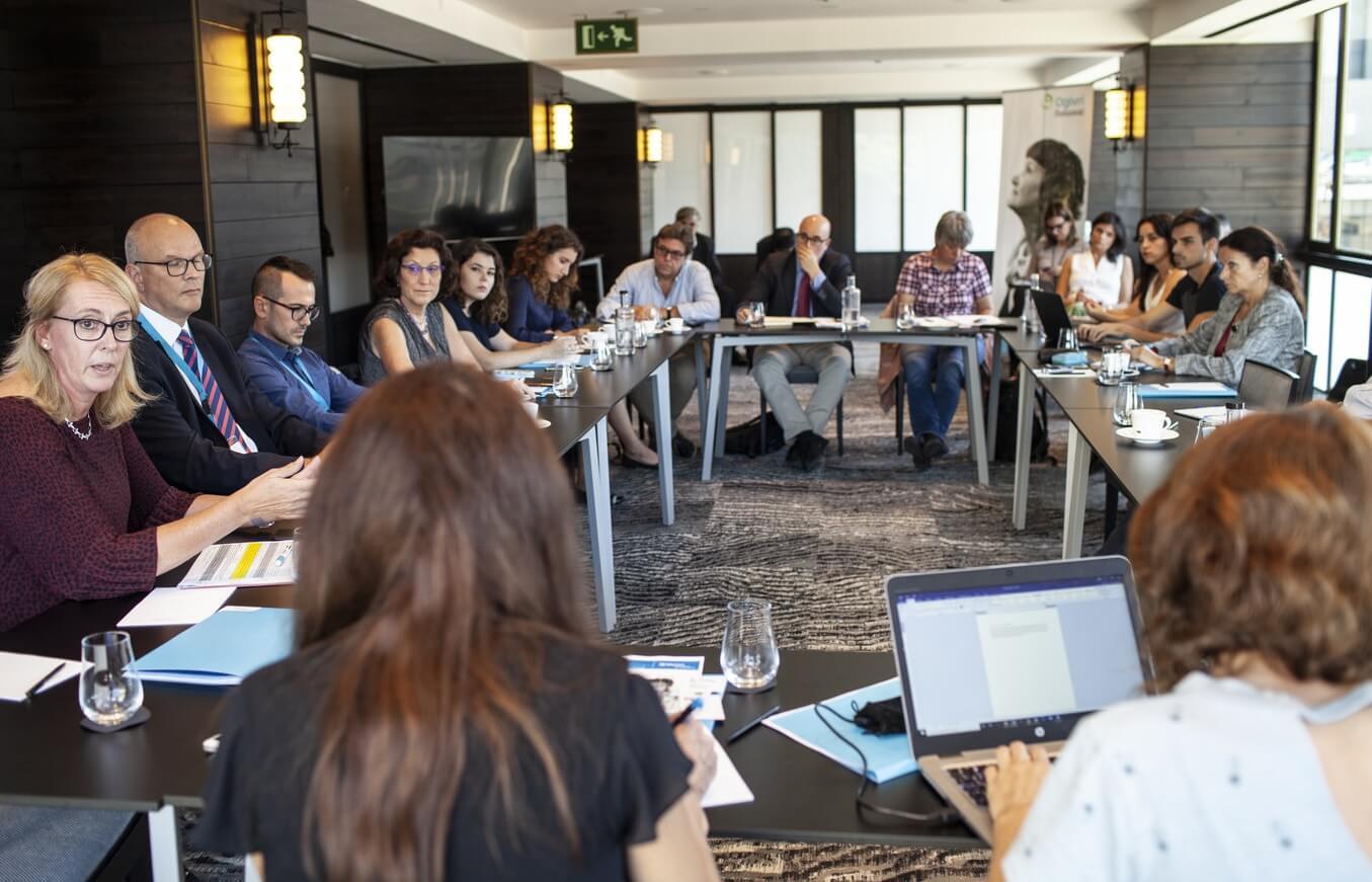 Evenimentul de prezentare a medicamentului Ogivri (trastuzumab-dkst), Barcelona, Spania.