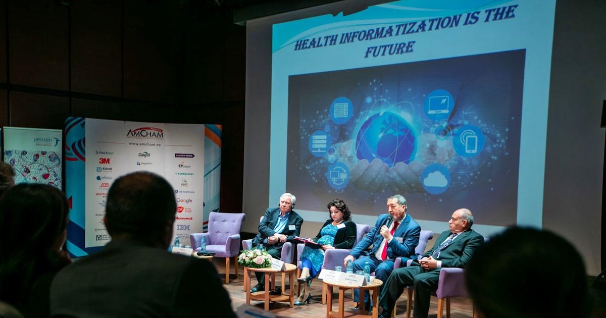 """Conferința """"Sănătatea în societatea digitală"""" organizată de AmCham România"""