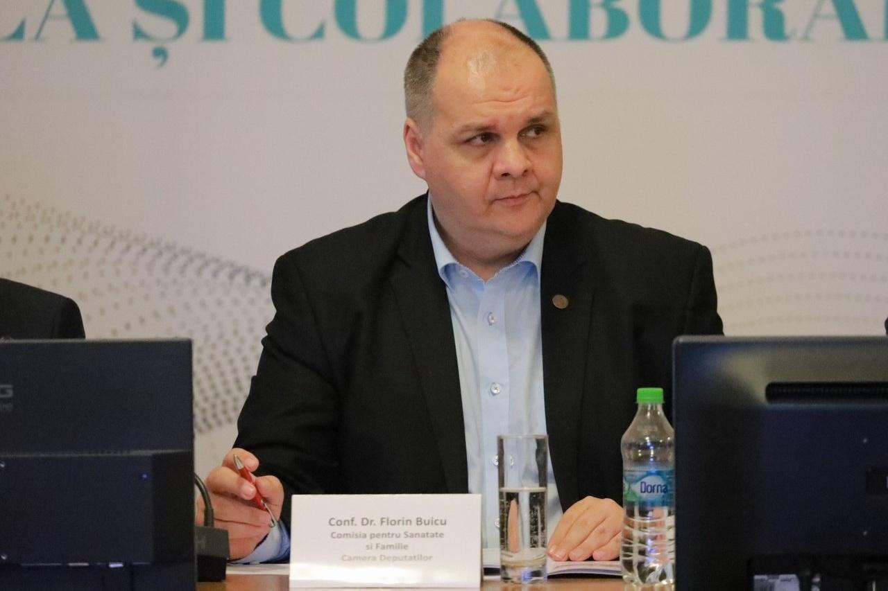 Conf. Dr. Florin Buicu, Președinte, Comisia pentru Sănătate și Familie, Camera Deputaților