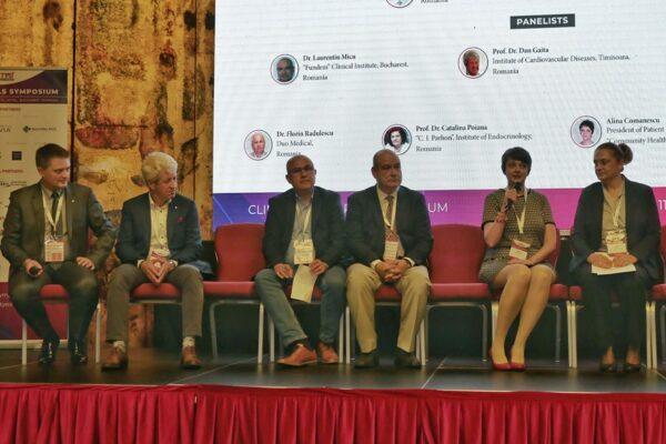 Dezbaterea în cadrul Clinical Trials Symposium 2019