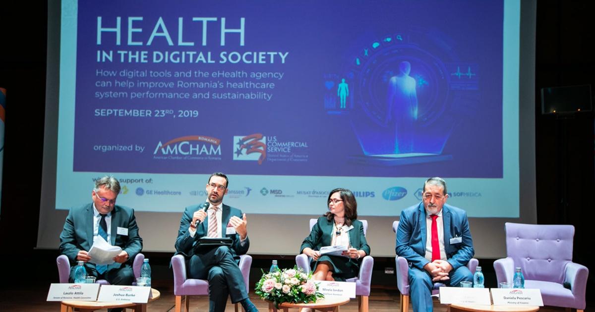 """Conferința """"Sănătatea în societatea digitală"""""""