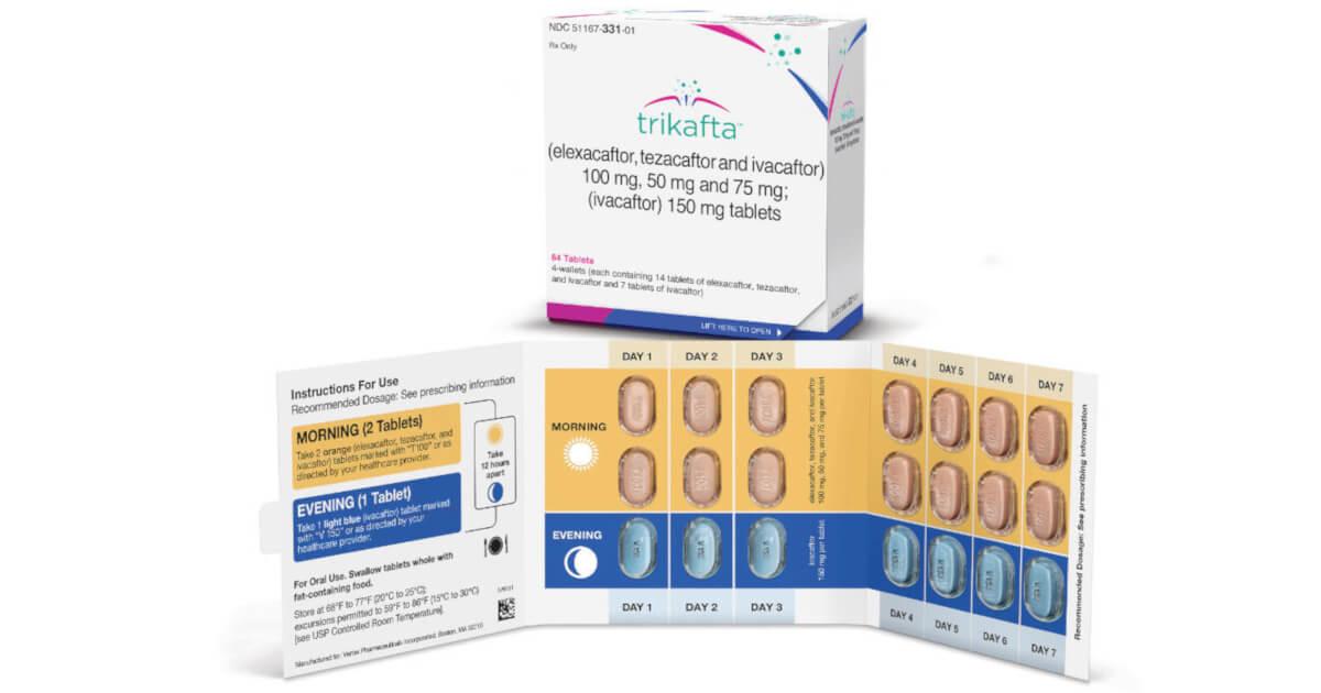 Triplă combinație pentru fibroza chistică