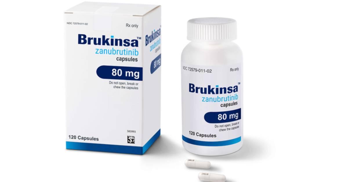 Brukinsa zanubrutinib capsule