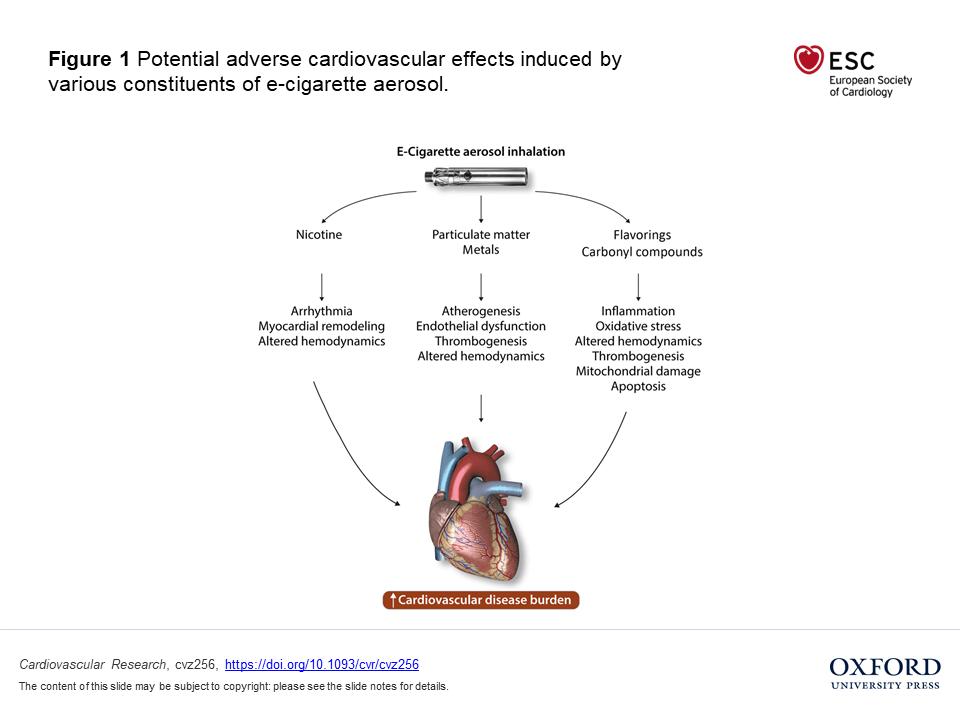 Efectele țigărilor electronice asupra inimii