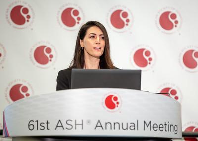 Iliaria Iacobucci, în cadrul ASH2019, prezintă principalele date ale studiului privind secvențierea genomului în leucemia mieloidă acută și sindromul mielodisplazic.