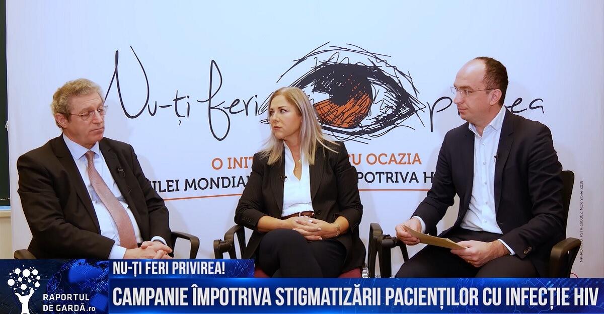 Prof. Adrian Streinu-Cercel, Dr. Marius Geantă și Dana Constantinescu