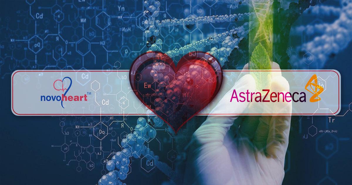 Parteneriat Novoheart și AstraZeneca Human-heart