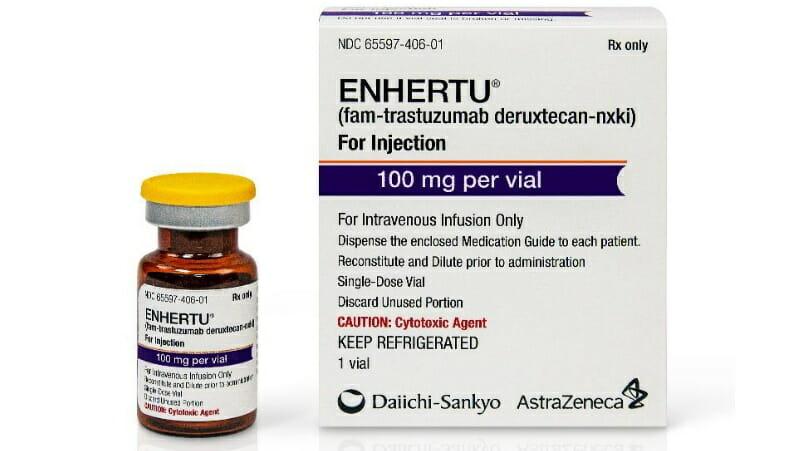 Enhertu (fam-trastuzumab deruxtecan-nxki), aprobat de FDA în tratamentul cancerului mamar HER2-pozitiv