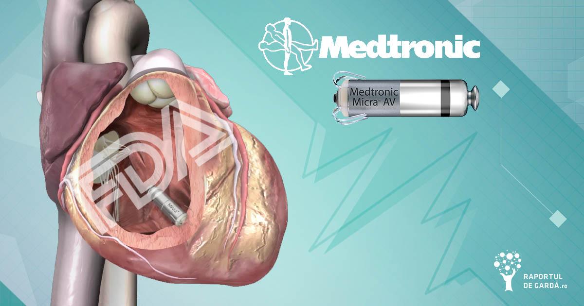 FDA aproba micra av pacienti blocaj atrioventricular