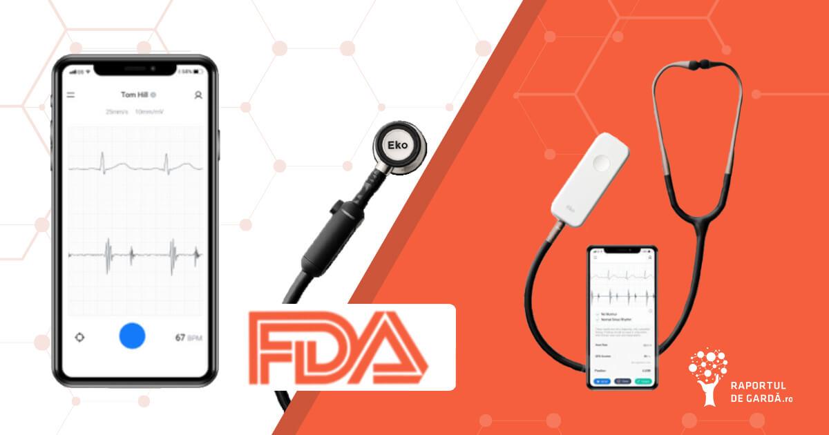 FDA aproba dispozitiv detectie fibrilatie atriala murmur cardiac