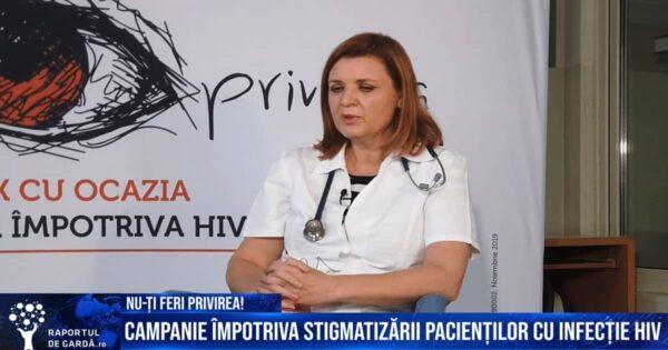 Interviu campanie impotriva stigmatizării pacienților HIV Dr Cristiana Oprea