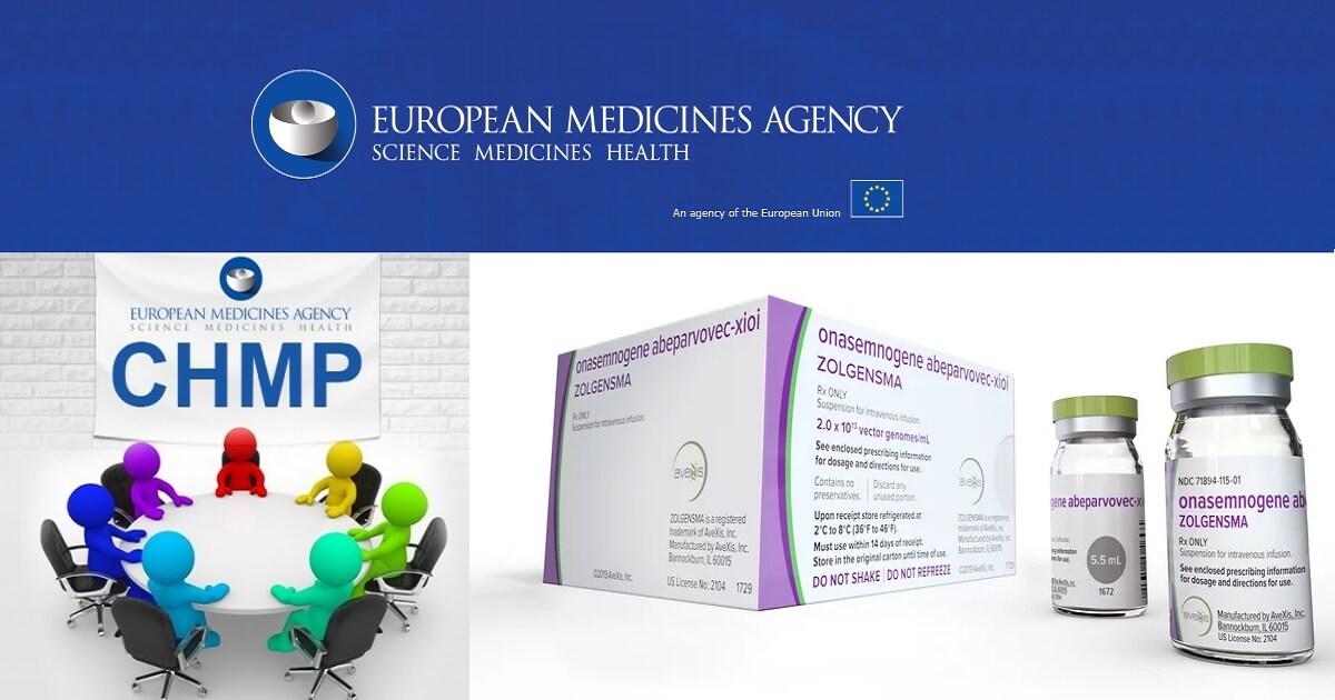 Comitetul pentru medicamentele de uz uman (CMPH) din cadrul Agenţiei Europene a Medicamentului (EMA) a recomandat autorizarea de punere pe piaţă condiționață a Zolgensma® (onasemnogene abeparvovec) pentru tratamentul pacienților cu atrofie musculară spinală tip 1 și mutație bi-alelică a genei SMN1.