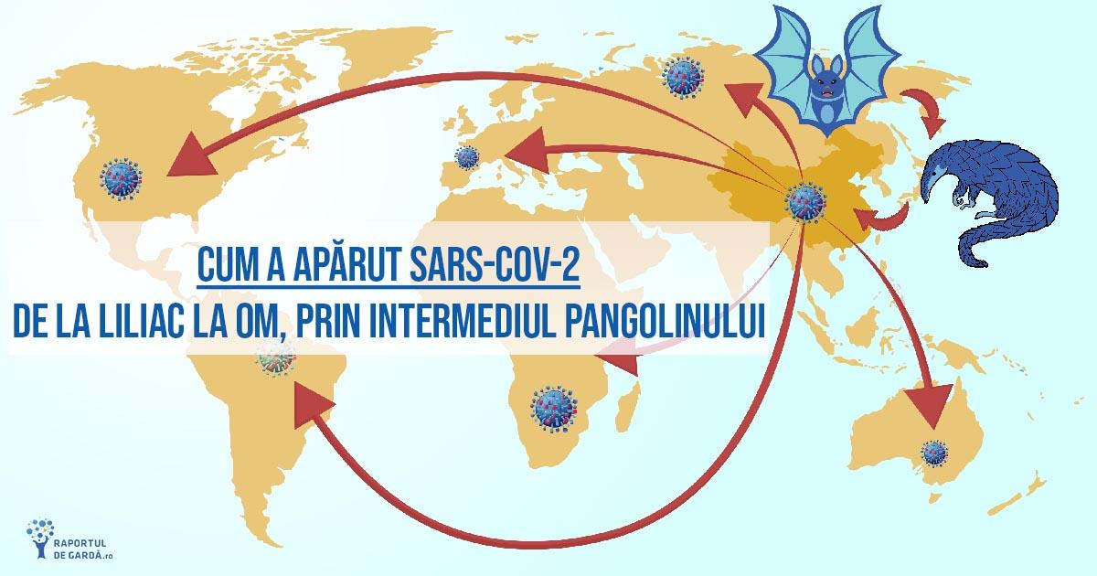 origine virus SARS-CoV-2 liliac pangolin om