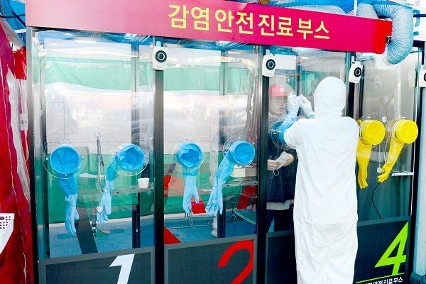 Prelevare probe pentru testare COVID19 în cabine SAFETY.