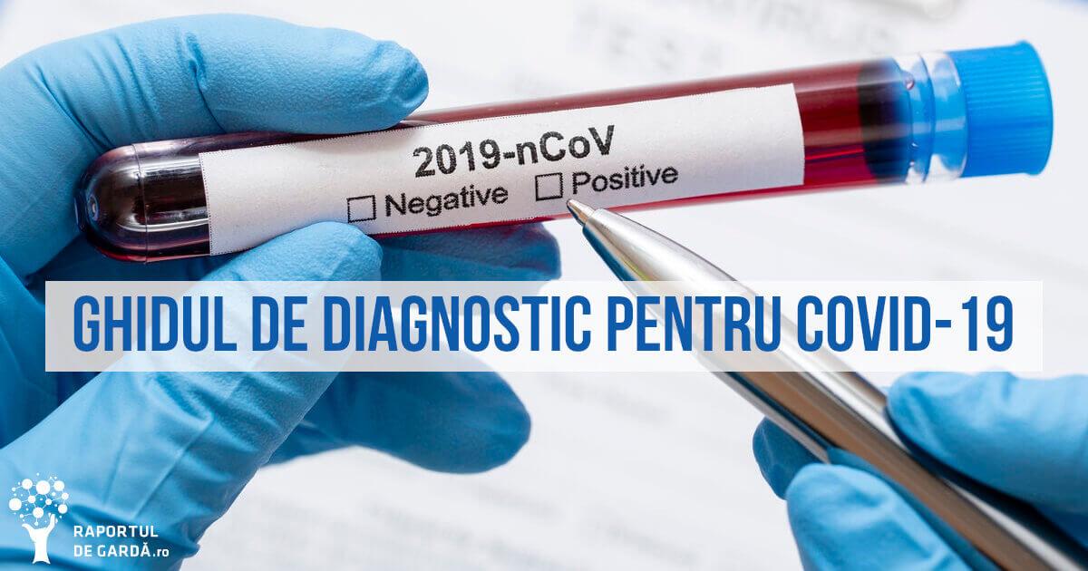 Ghid de diagnostic pentru infecția cu noul coronavirus SARS-CoV-2