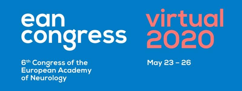 congres academie neurologie european EAN congress 2020 may 23 - 26 virtual