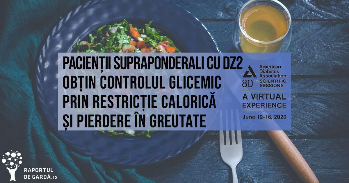 Restricția calorică urmată de pierderea în greutate și nu aportul de fibre sunt principalele mecanisme în vederea îmbunătățirii nivelului glicemic la pacienții supraponderali cu DZ2. În plus, chiar și o scădere în greutate de 1,6 kg este asociată cu o îmbunătățirea a HbA1c în cazul acestora