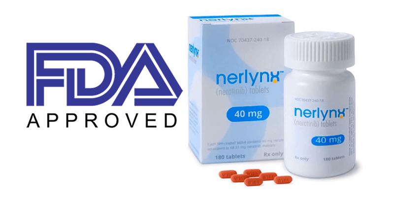 neratinib nerlynx studiu NALA producător PUMA aprobare FDA
