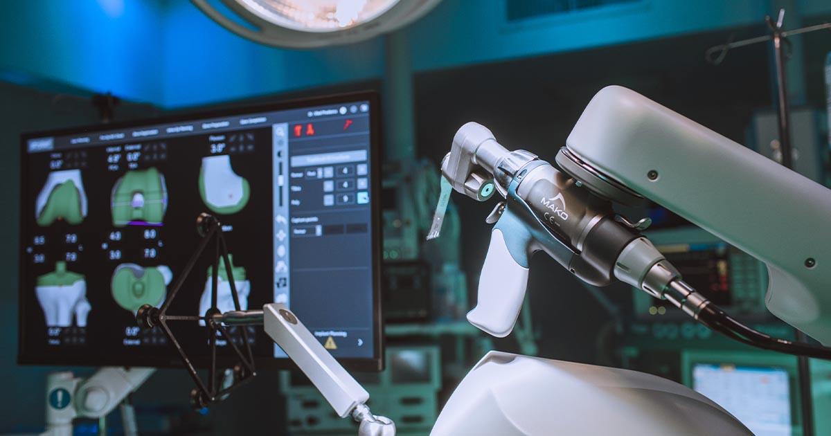 Regina Maria Ponderas Academic Hospital robot MAKO