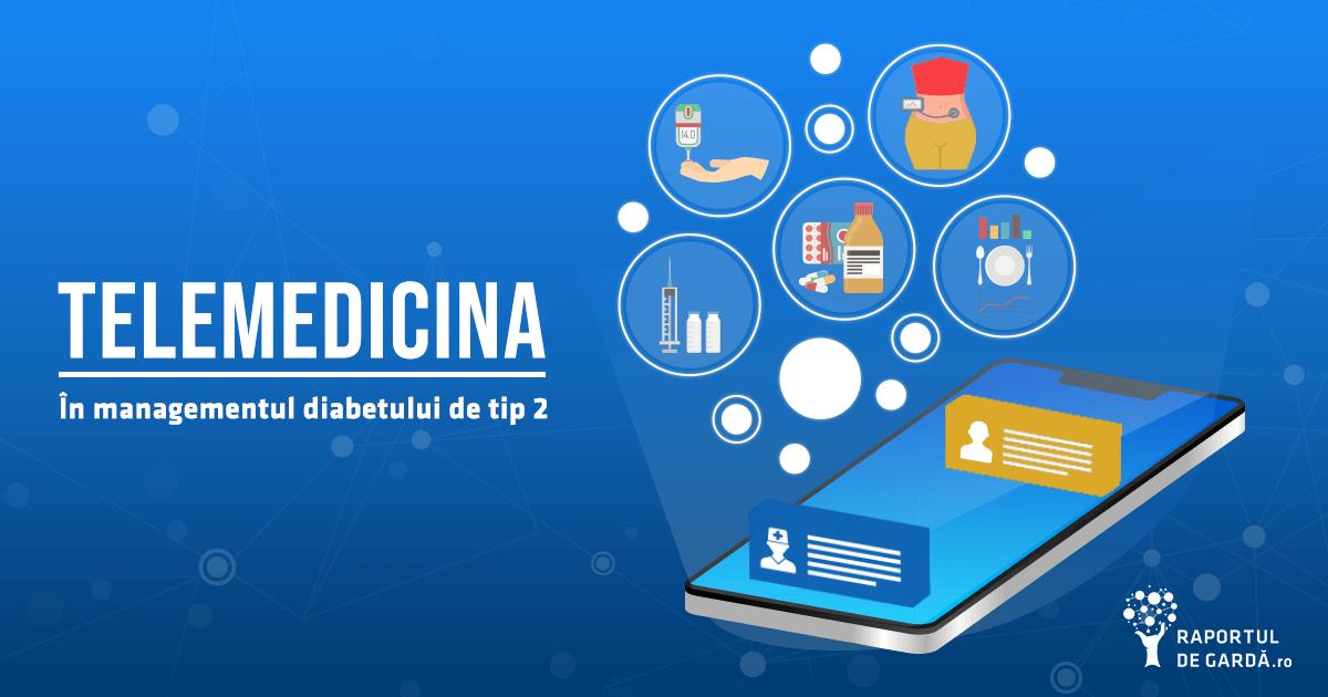 Telemedicina utilizată în diabetul de tip 2 #ADA20