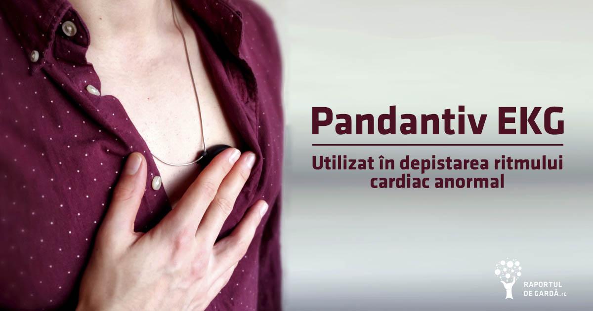 Pandantiv EKG pentru depistarea fibrilației atriale