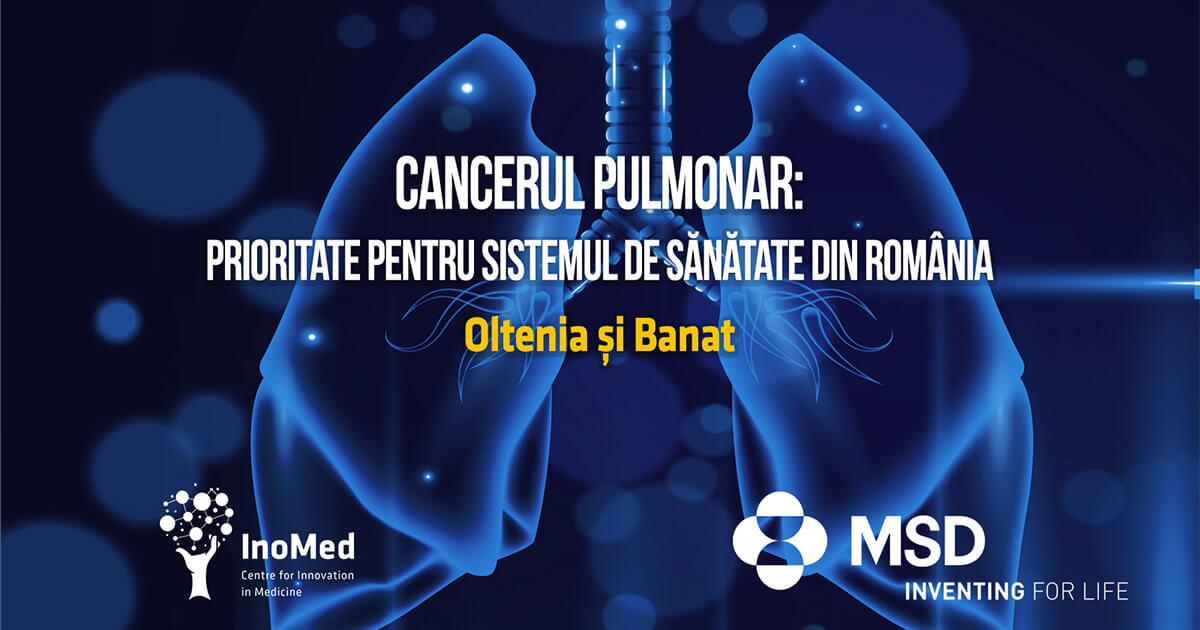 Cancerul pulmonar - Oltenia și Banat