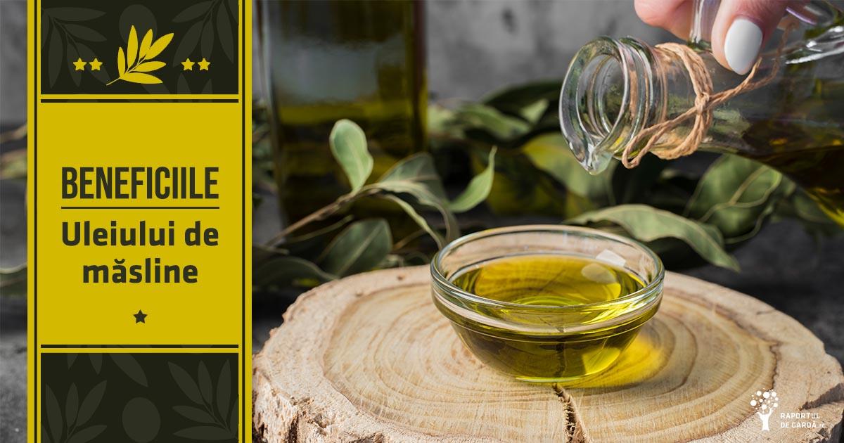 Uleiul de măsline scade riscul dezvoltării bolii arteriale coronariene
