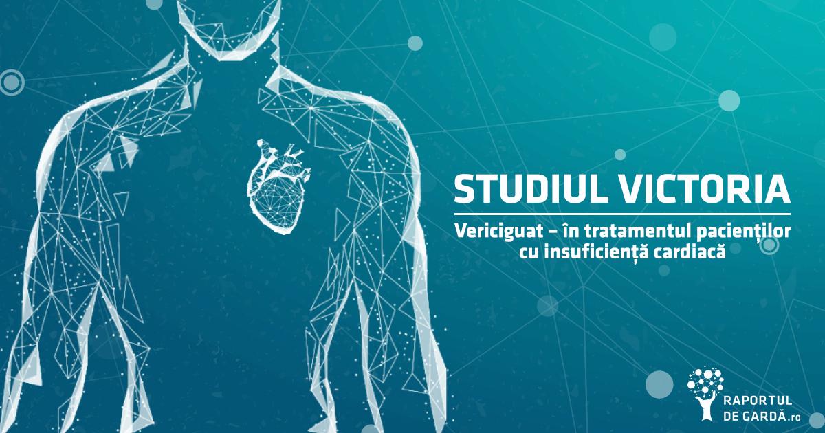 Studiul victoria vericiguat tratament insuficienta cardiaca