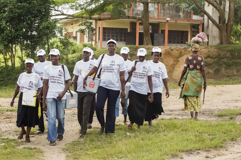 voluntari eradicare poliomielita rotary