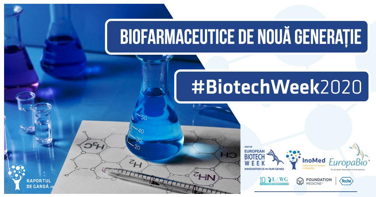 Biotech Week 2020 Biofarmaceutice de nouă generație