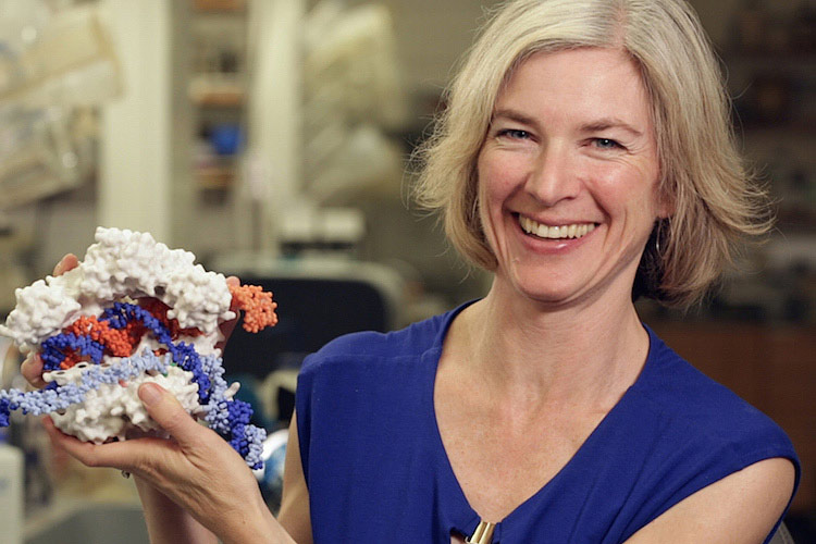 Dr. Doudna Nobel 2020 chimie