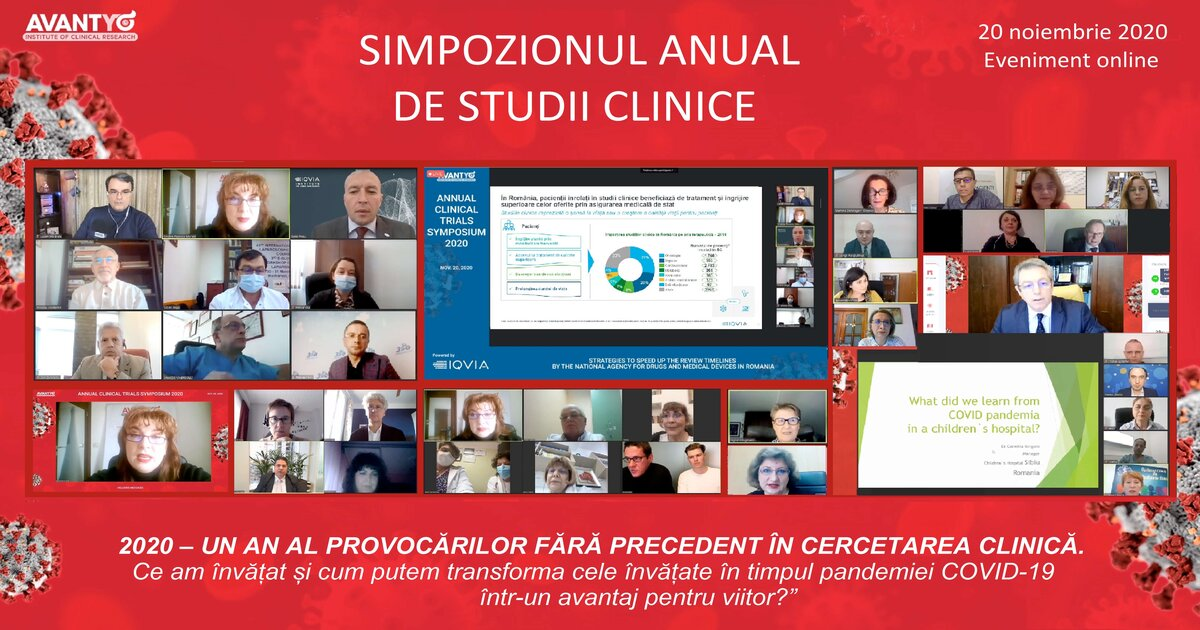 Simpozion anual 2020 Studii Clinice