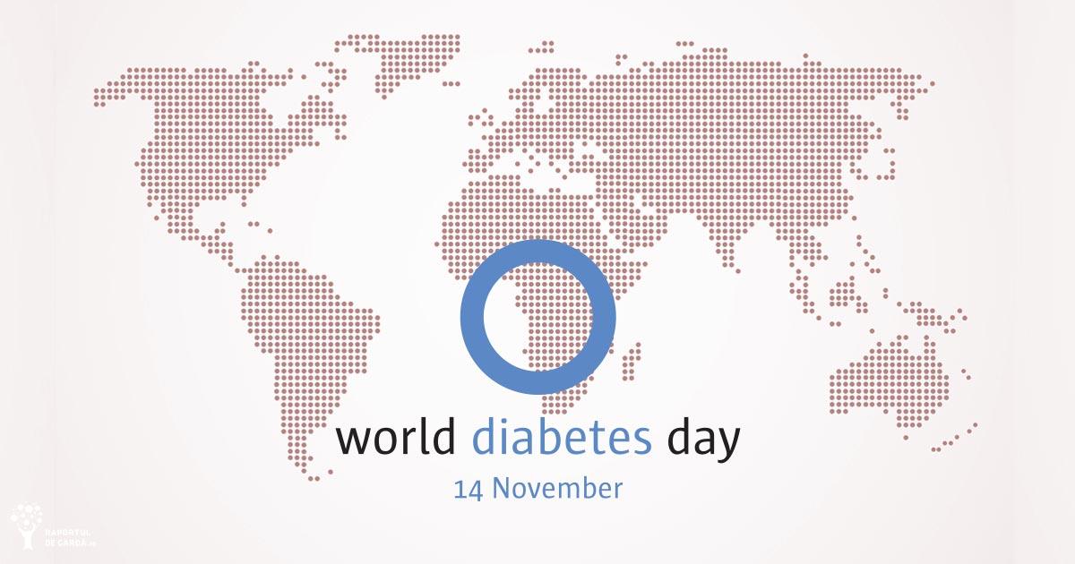 Ziua Mondială a Diabetului. Majoritatea diabeticilor de tip 2 au risc ridicat de infarct sau accident vascular cerebral fatal