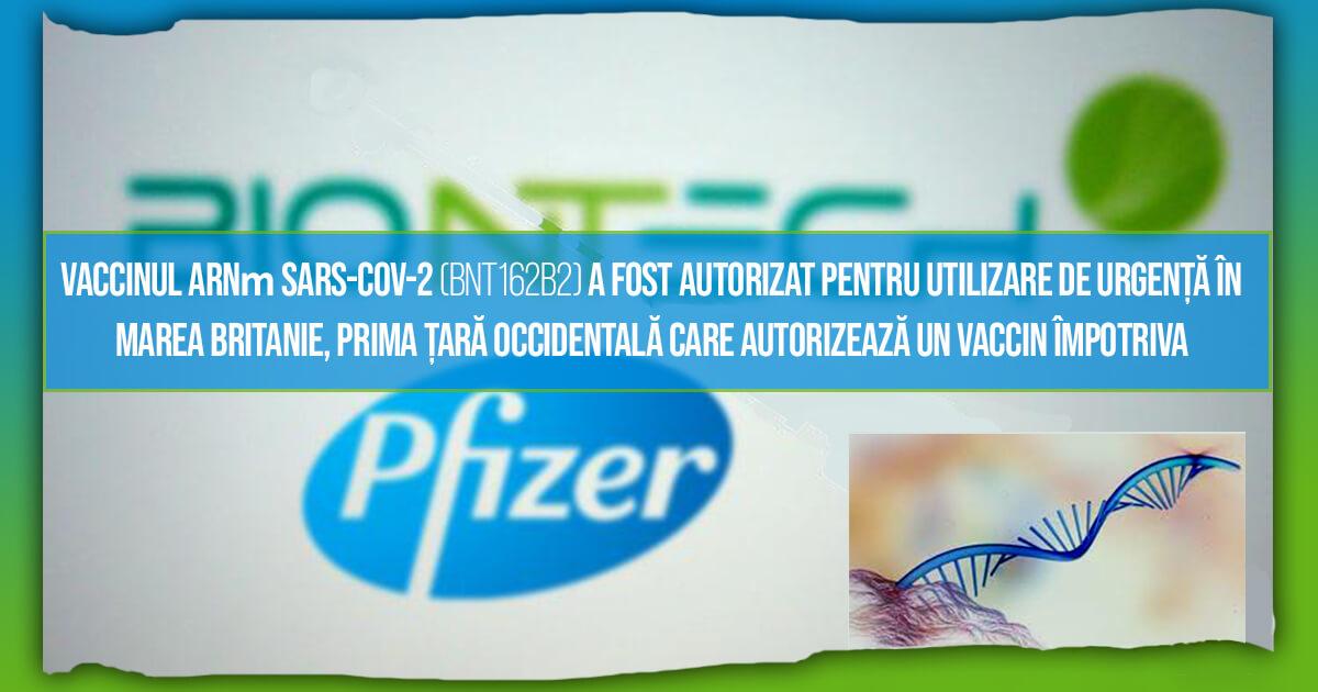 Pfizer și BioNTech primesc autorizare de urgență pentru vaccinul anti COVID-19