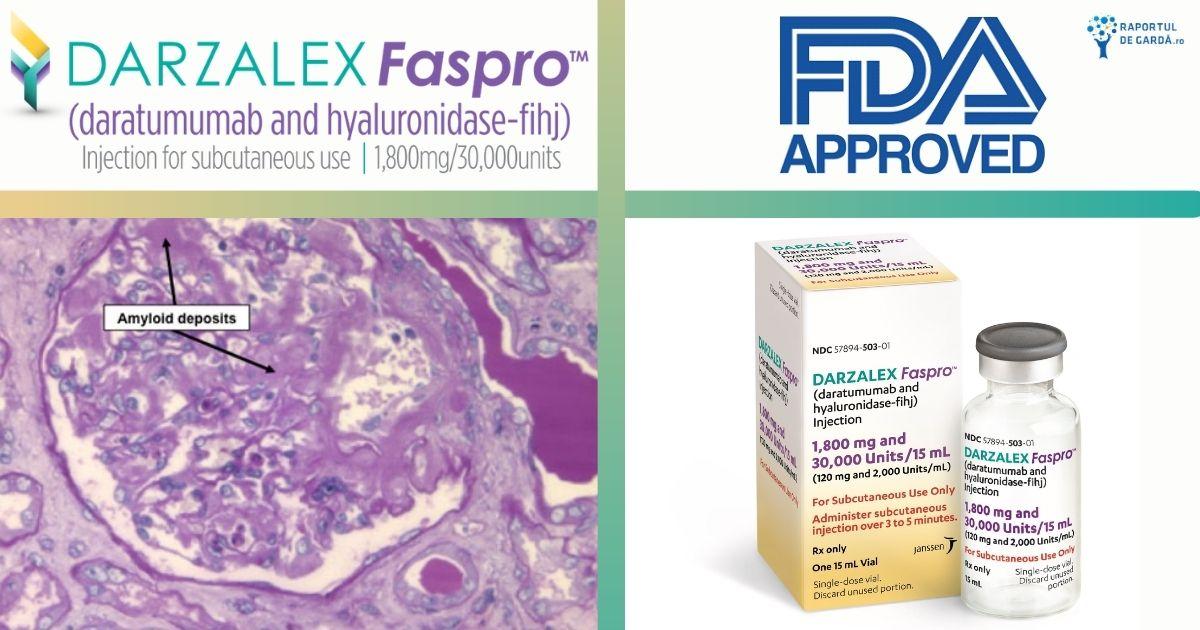 Darzalex FASPRO aprobare FDA amiloidoza