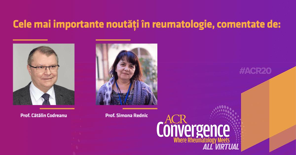 ACR 2020 - noutăți în reumatologie