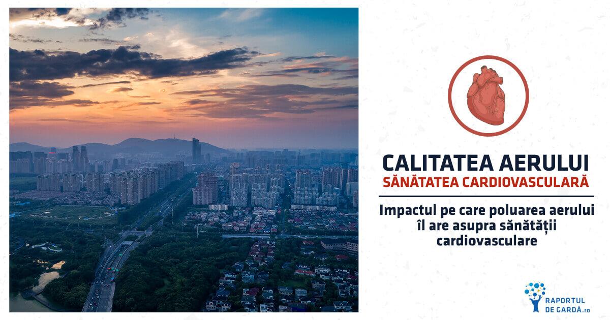 Impactul poluării aerului asupra sănătății cardiovasculare